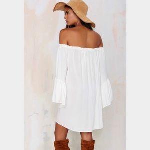 Nasty Gal Dresses - Nasty Gal Off Shoulder Dress
